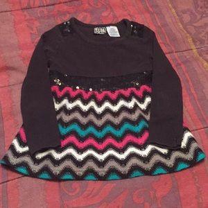 Black striped size 3t top!